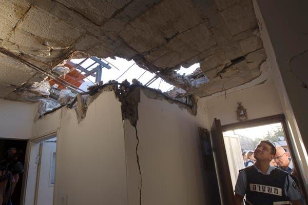 تواصل سقوط الصواريخ على المدن الاسرائيلية