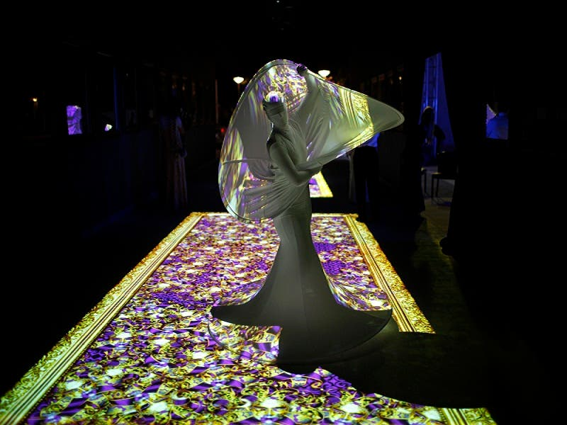 A dancer performs during the inauguration ceremony of the Bahrain National Theatre in Manama Nov. 12, 2012. (Reuters)