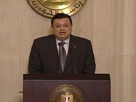 ياسر علي يعلن قرارات مرسي