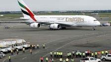 Emirates says three passengers, seven crew taken ill on Dubai-NY flight