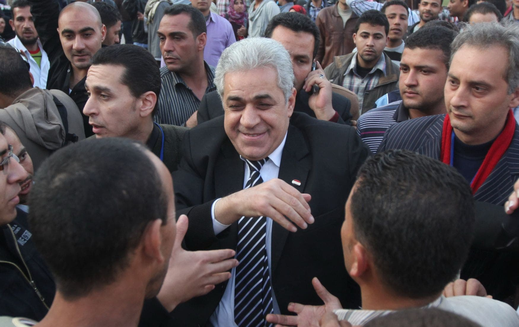 Hamdeen Sabbahi has always fashioned himself as a man of the people. (File photo)