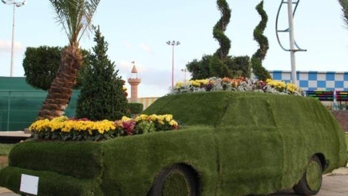 عربة الورد من ابتكار أحد منسوبي أمانة الطائف