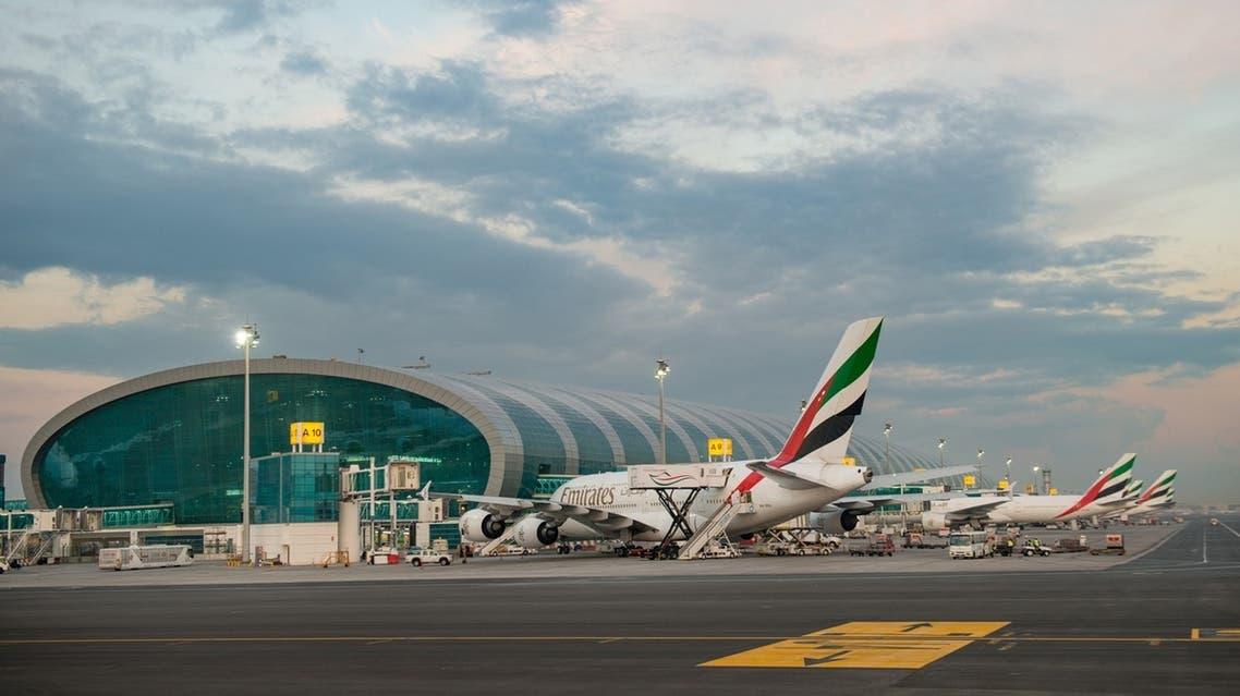 طيران الإمارات-مطار دبي
