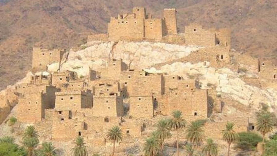 قرية ذى عين  في المخواه اهم القرى الأثرية