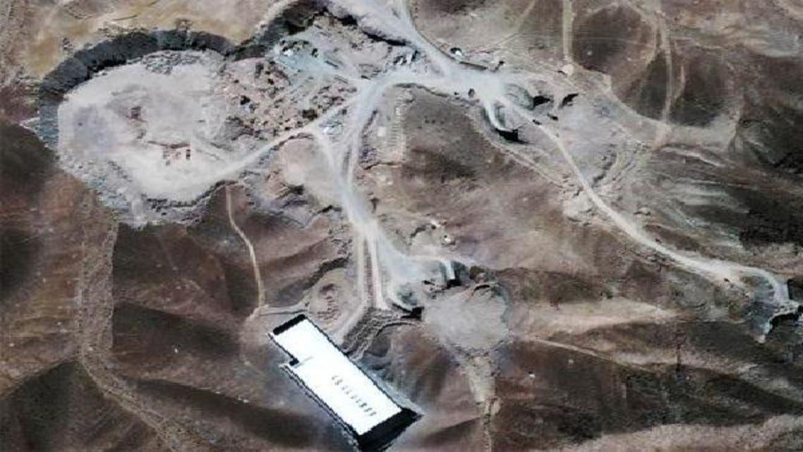 ایران کے ایک خفیہ ایٹمی پلانٹ میں زیر زمین دھماکا