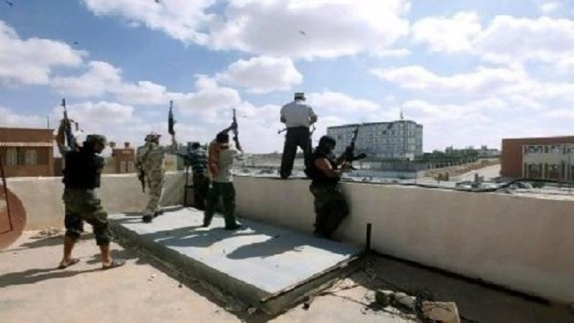 200,000 armed men in the revolutionary brigades that overthrew late dictator Moamer Kadhafi are still not under government control. (Reuters)