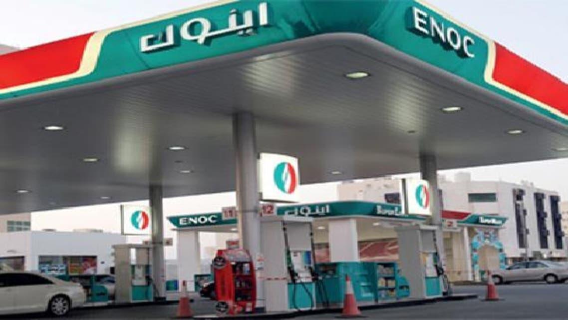 """محطة وقود تابعة لشركة بترول الإمارات الوطنية \\""""إينوك\\"""""""