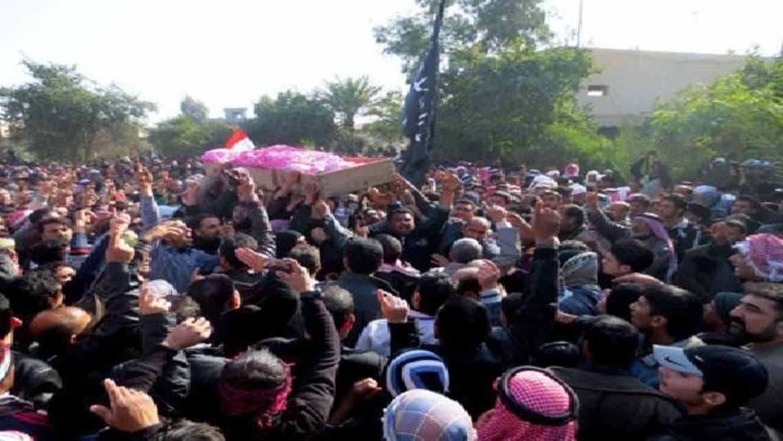 متظاهرو الأنبار يواصلون انتفاضتهم ضد المالكي