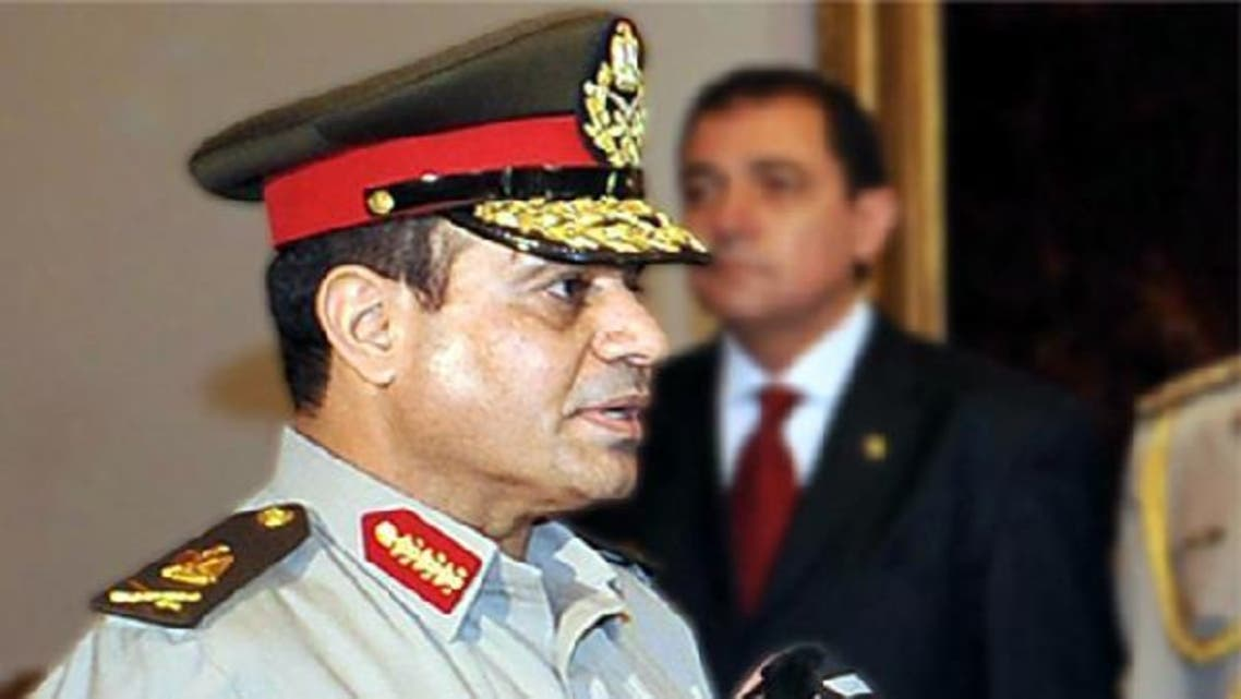 Egypt's defense Chief General Abdel Fattah al-Sissi was appointed by Islamist President Mohammed Mursi after previous Mubarak era generals were sacked. (AFP)