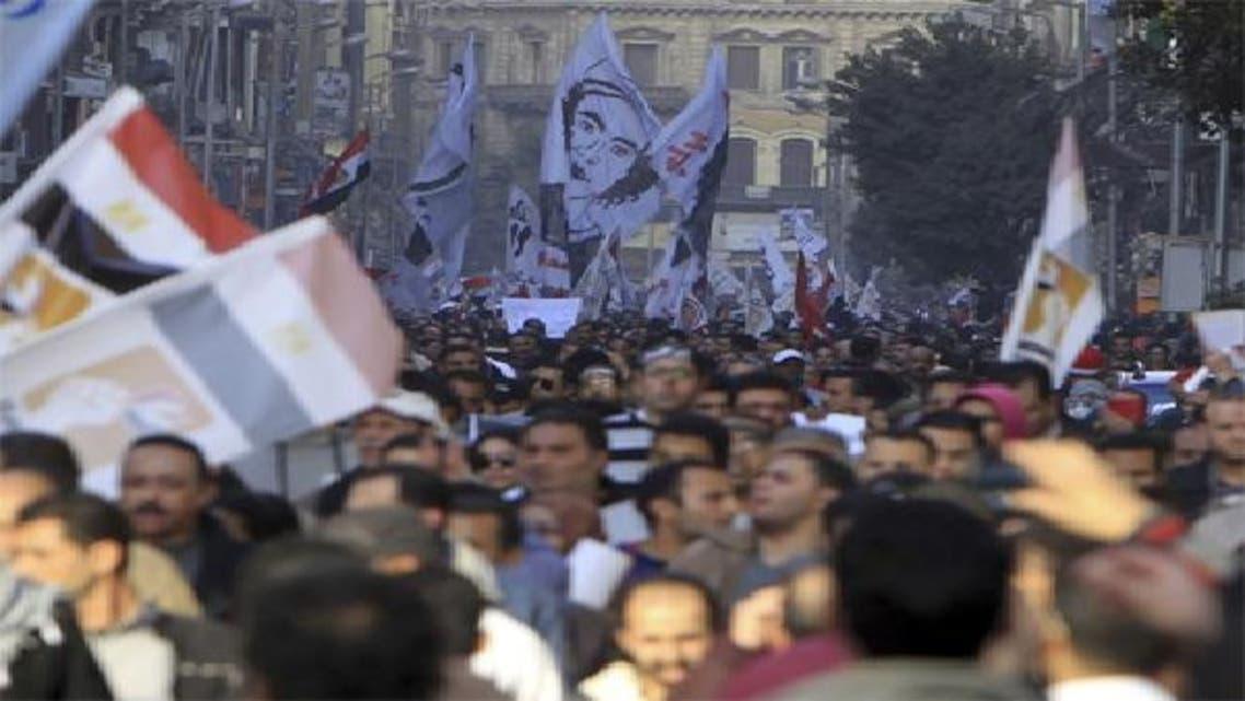 مظاهرات في القاهرة أمس