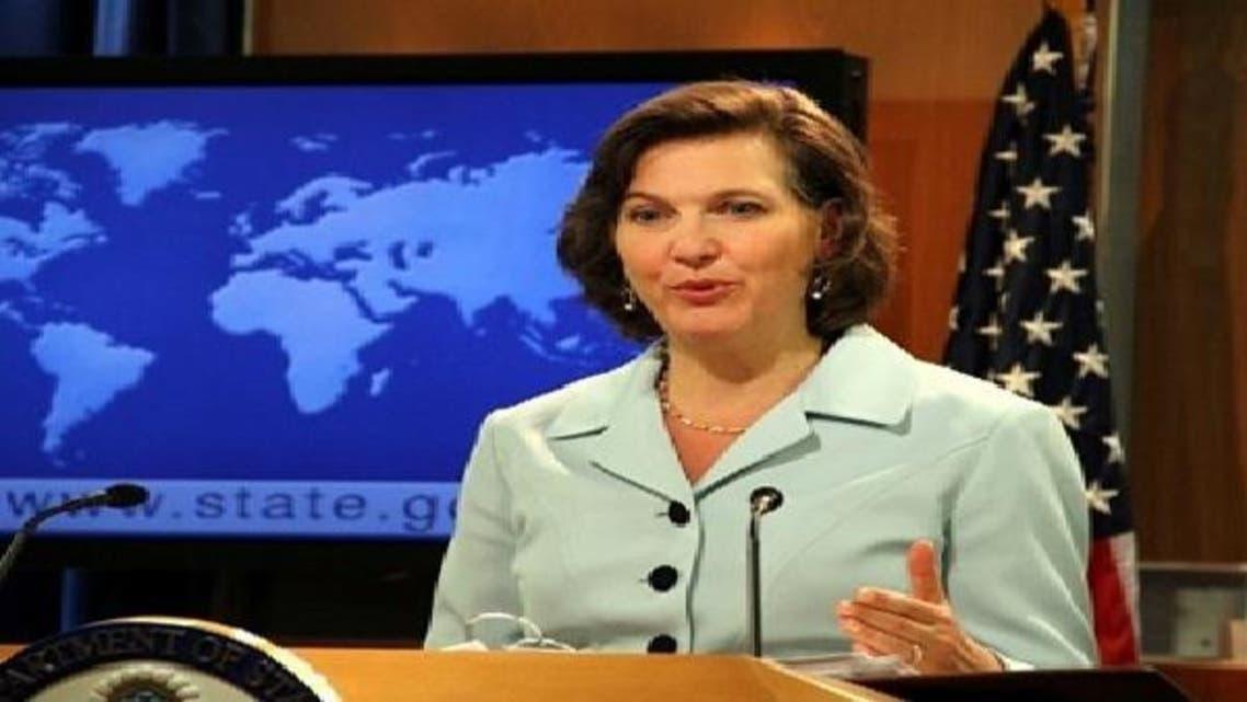 المتحدثة باسم الخارجية الأمريكية فيكتوريا نولاند