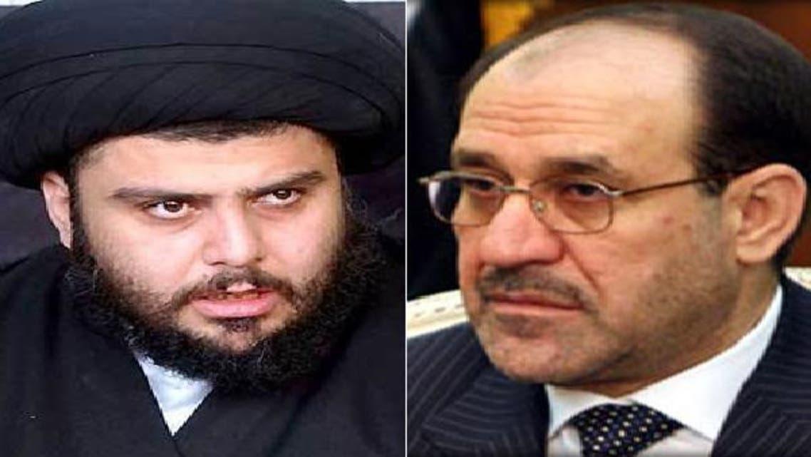 نوري المالكي ومقتضى الصدر