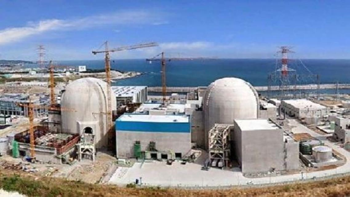 The UAE announced in mid-July that it would begin building two of four nuclear power plants -- each with a capacity of 1,400 megawatts -- in partnership with a South Korean consortium, as part of plans to produce electricity from 2017. (AFP)
