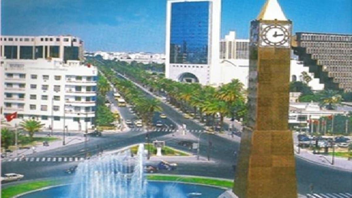 جانب من العاصمة التونسية