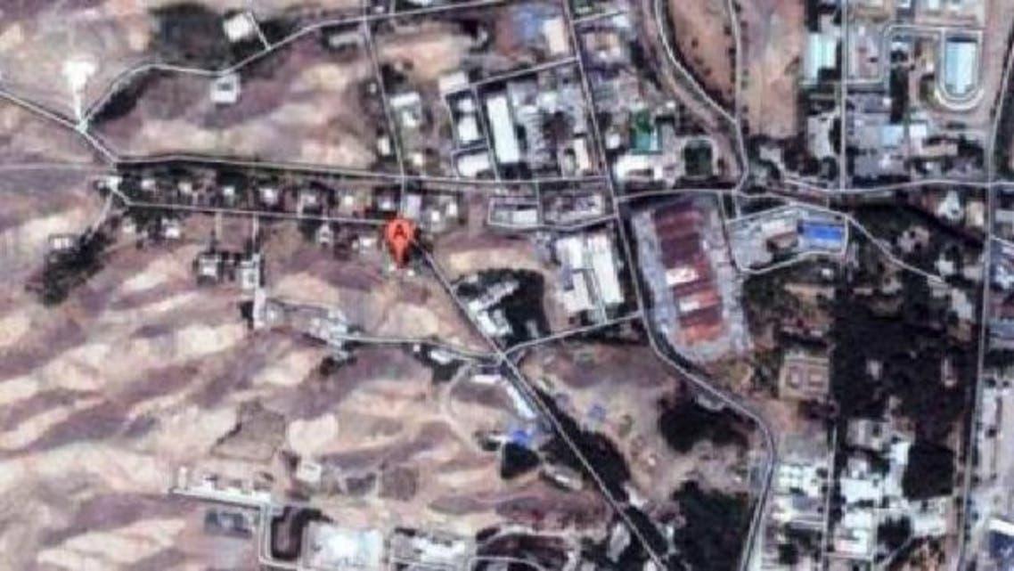 """موقع \\""""بارتشين\\"""" بالقرب من طهران"""