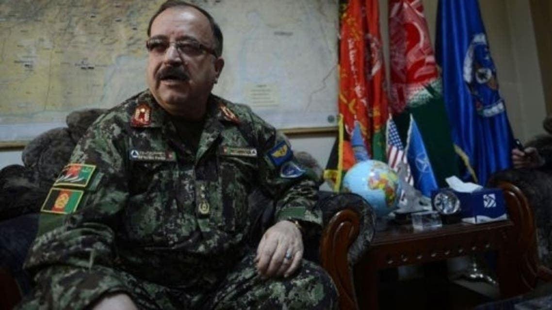 Major General Abdul Wahab Wardak, commander of the Afghan Air Force, says Afghanistan's fledgling air force is more like a bicycle than a modern fighting machine. (AFP)