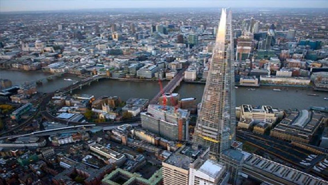 """برج \\""""شارد\\"""" يفتتح سماء لندن رغم الانتقادات"""
