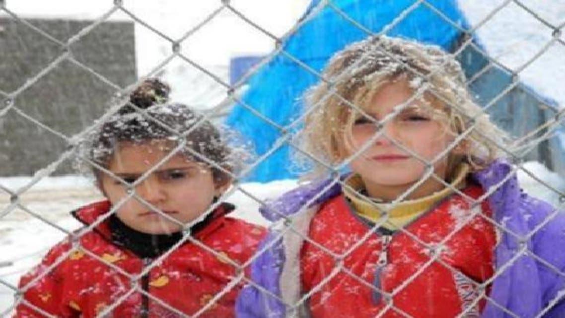 صفحات السوريين على فيسبوك تكتسي بالأبيض بعد العاصفة الثلجية