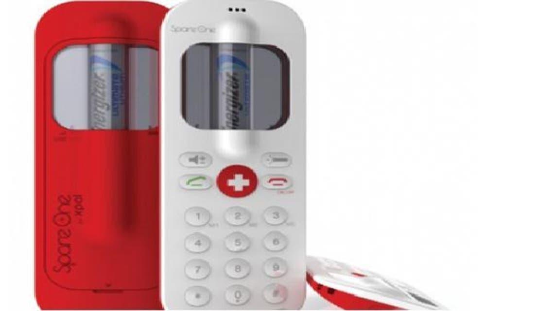 """يعمل هاتف Spare One الجديد ببطارية ليثيوم من طراز \\""""إنرجايزر\\"""""""