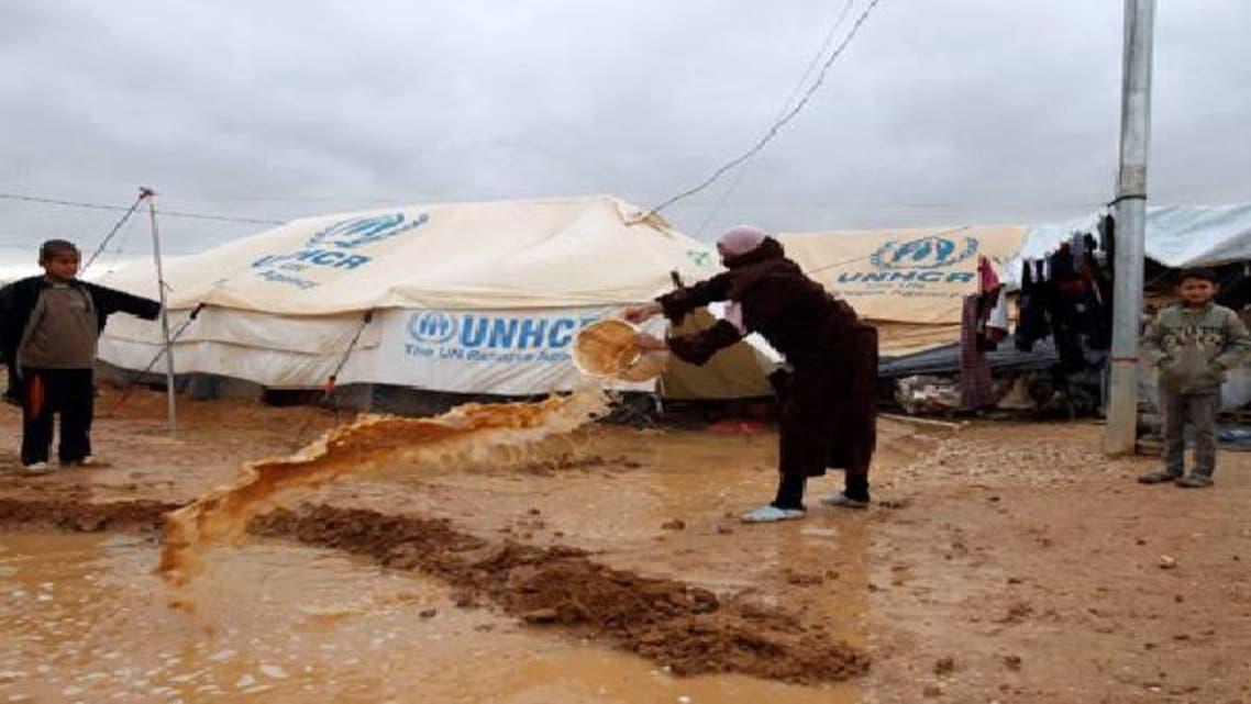 لاجئو سوريا في مخيم الزعتري يوجهون نداءات استغاثة