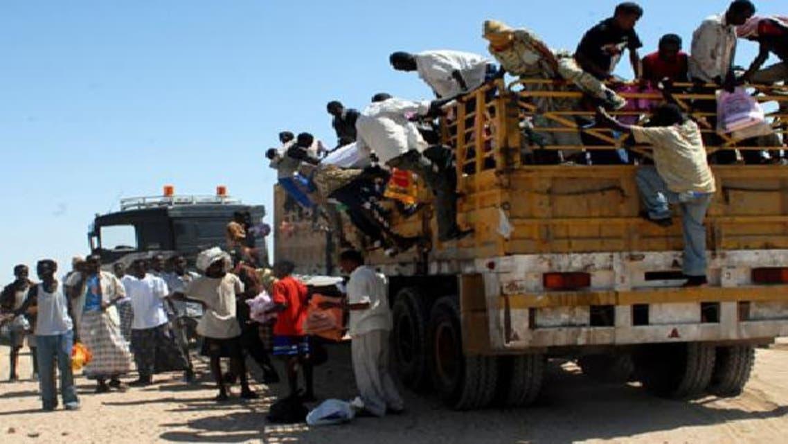 1.2 مليون لاجئ إفريقي نزحوا إلى اليمن حتى 2012