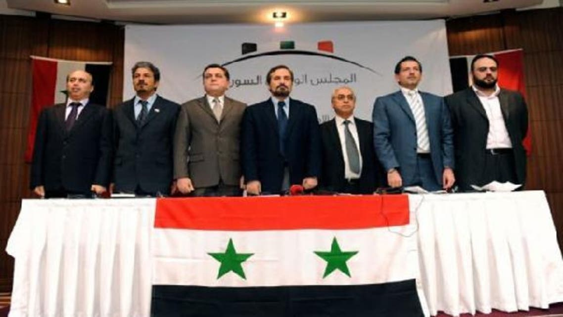 The Syrian National Council proposes a transitional government in areas outside President Bashar al-Assad's regime control. (AFP)
