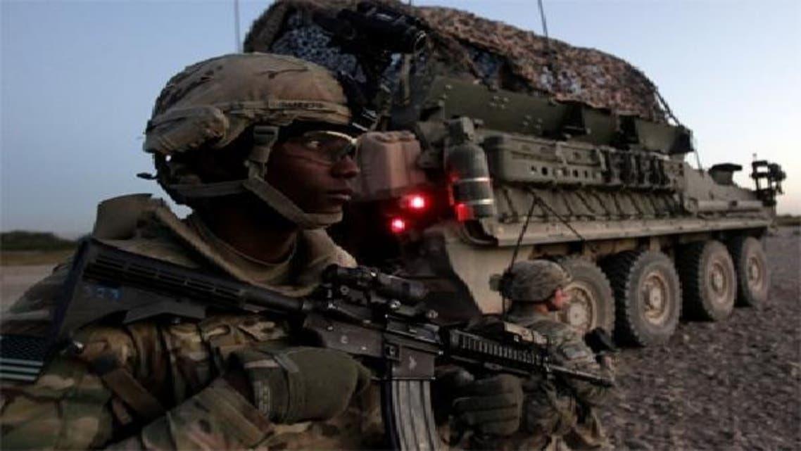 افغان میں تعینات ایک نیٹو فوجی