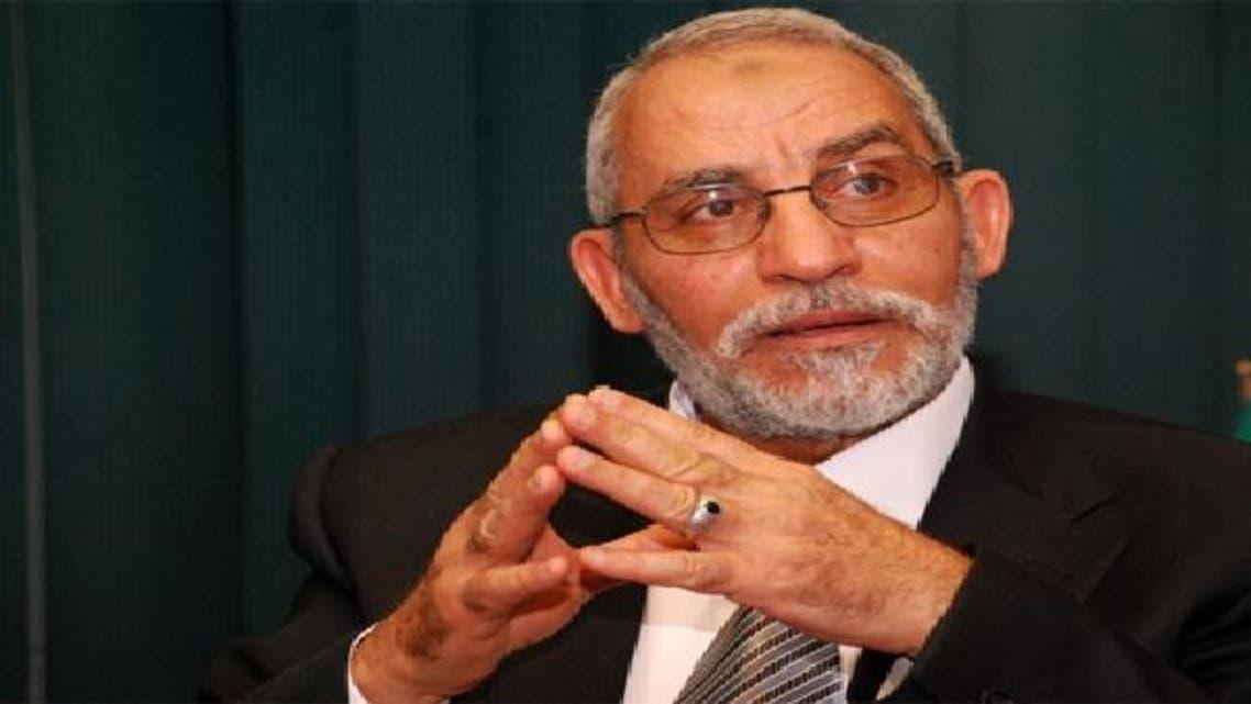 الدكتور محمد بديع المرشد العام لجماعة الإخوان المسلمين