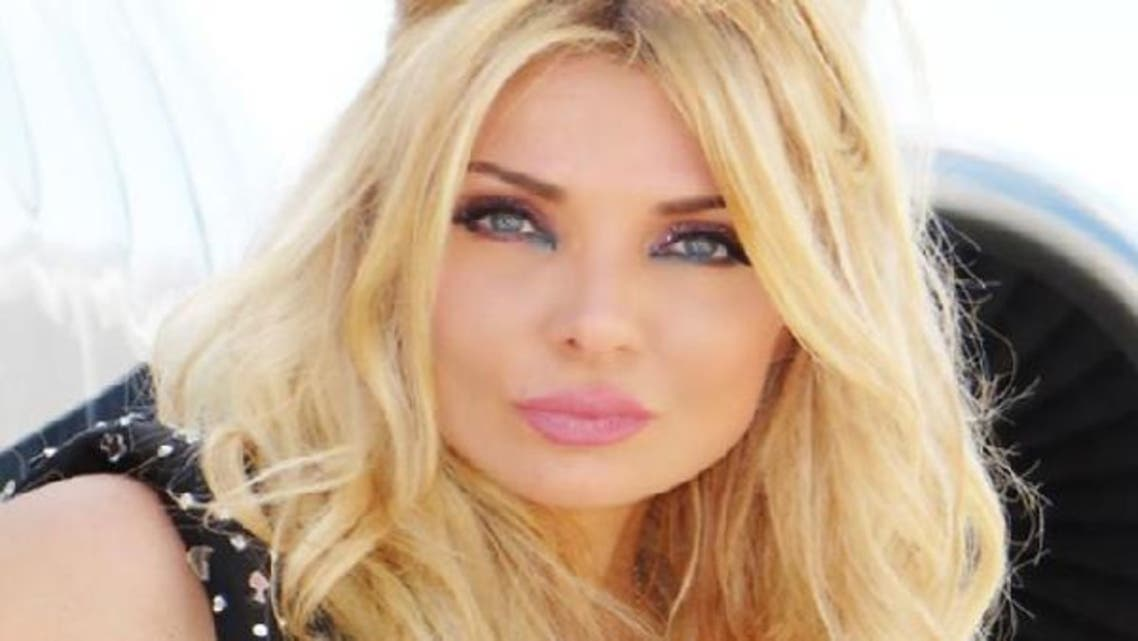 """Lebanese model Miriam Klink, who criticized the situation in Lebanon in her recent video clip: """"Klink Revolution,"""" said she was no longer interested to run in the country's upcoming parliamentary elections.  (Photo courtesy Ratan News)"""