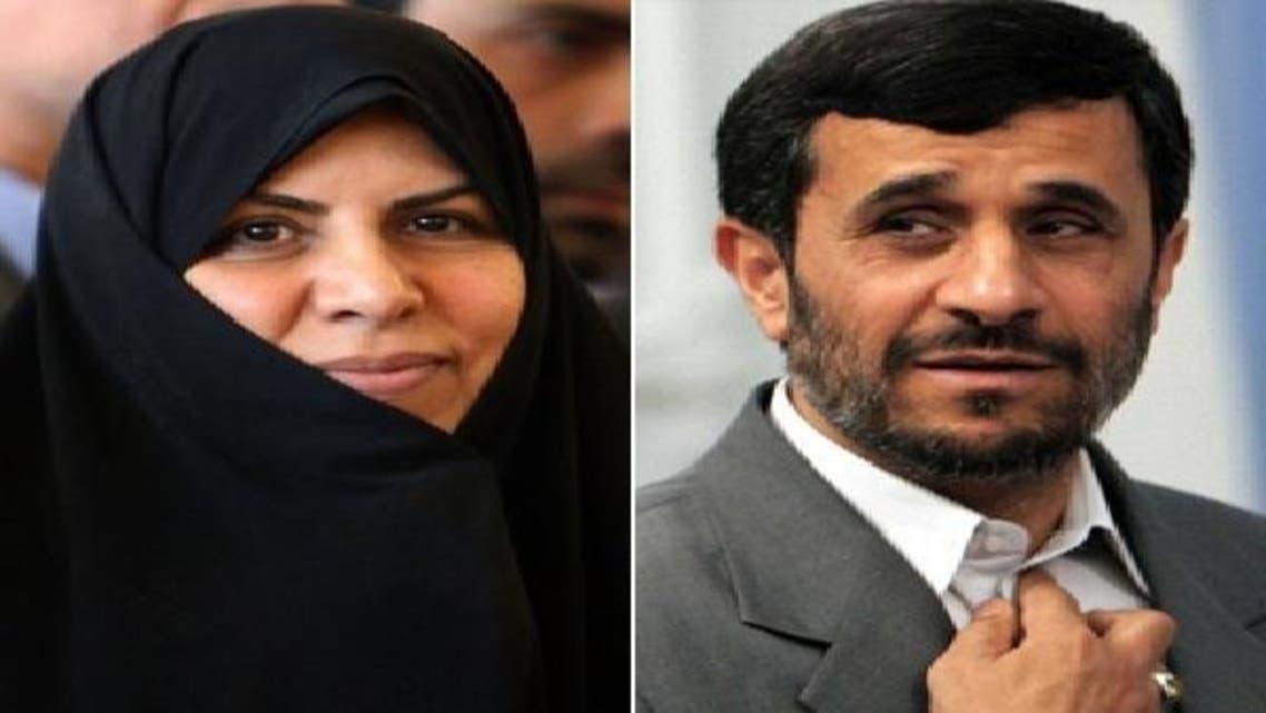 احمدی نژاد اور مرضیہ وحید دست جردی