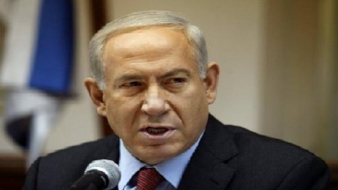 Israeli PM Benjamin Netanyahu, pictured in his Jerusalem office on Dec. 16, 2012, said he aims to repatriate tens of thousands of African illegal migrants. (AFP)