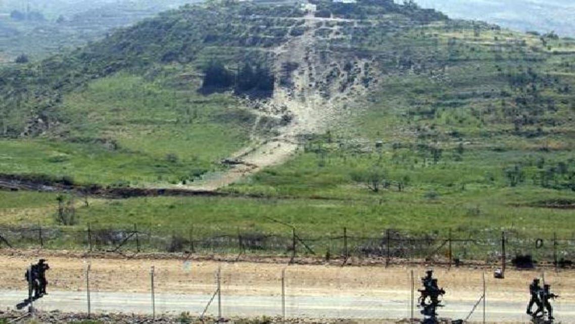 اسرائیل نے گولان کے علاقے میں سیکیورٹی دیوار کی تعمیر شروع کر دی