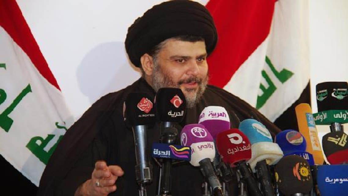 """Moqtada al-Sadr, head of a powerful Shi\'ite movement in Iraq voiced his support for Sunni anti-government protesters, and warned of an """"Iraqi Spring"""". (Reuters)"""