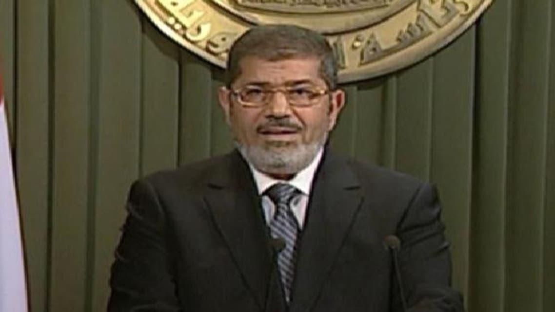صدرمحمد مرسی قوم سے خطاب میں حزب اختلاف کو قومی مذاکرات میں شرکت کی دعوت دی  ہے۔