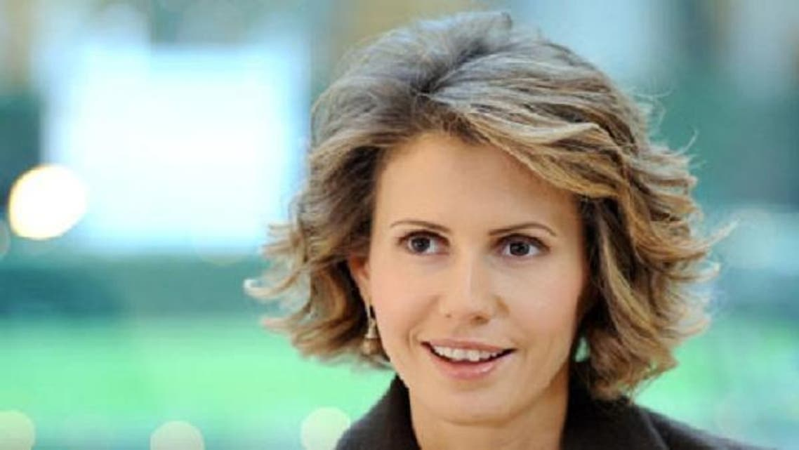 Syria\'s First Lady gets attacked by a letter that circulated the web claimed to have been written by her cousin, Rasha al-Akhras.(AFP)