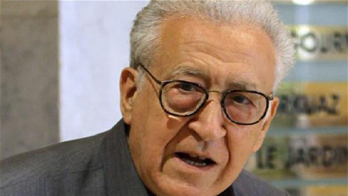الاخضر الابراہیمی کا 19 اکتوبر کے بعد شام کا یہ دوسرا دورہ ہے