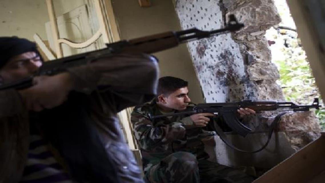 شامی جیش الحر کے جنگجو