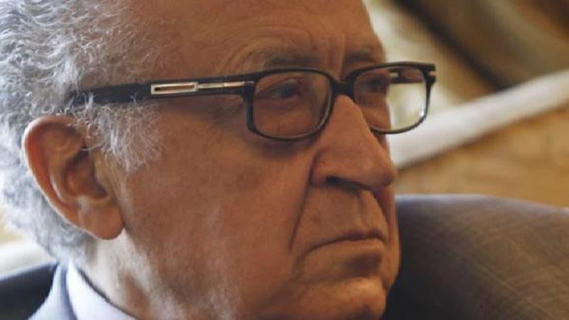 الاخضر الابراہیمی نے جنیوا امن منصوبے کو آگے بڑھانے کی ضرورت پر زور دیا ہے