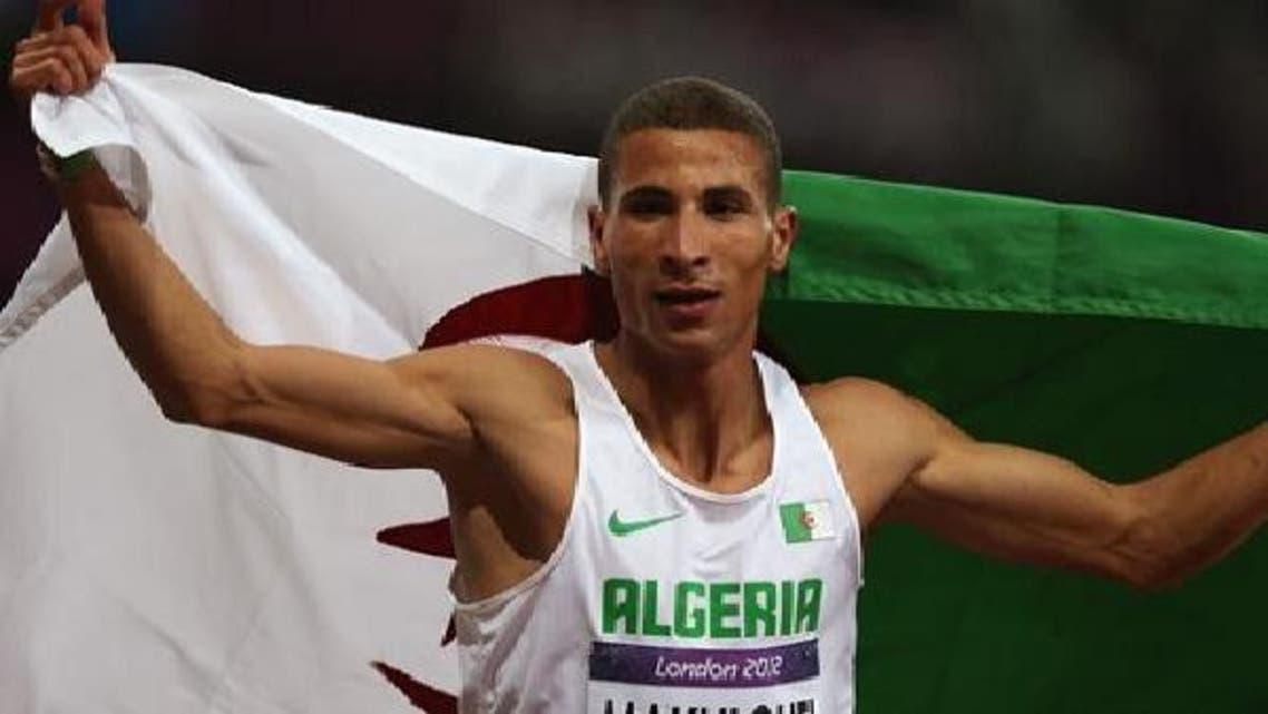 البطل الأولمبي الجزائري توفيق مخلوفي