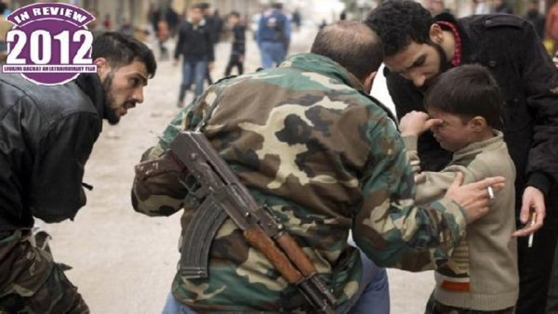 More than 45,000 people have been killed since the conflict broke out in March 2011. (AFP)