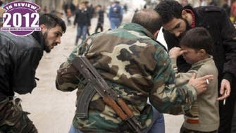 About 90 percent of deaths in Syria violence happened in 2012