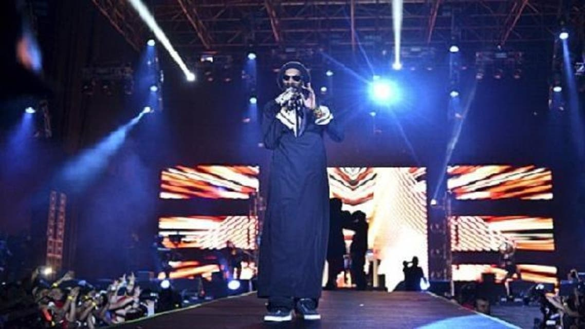 American iconic rapper, Snoop Dogg marked the new year with his first appearance in Dubai and a grand Emirati-style headline show. (Photo Courtesy: Time Out Dubai)