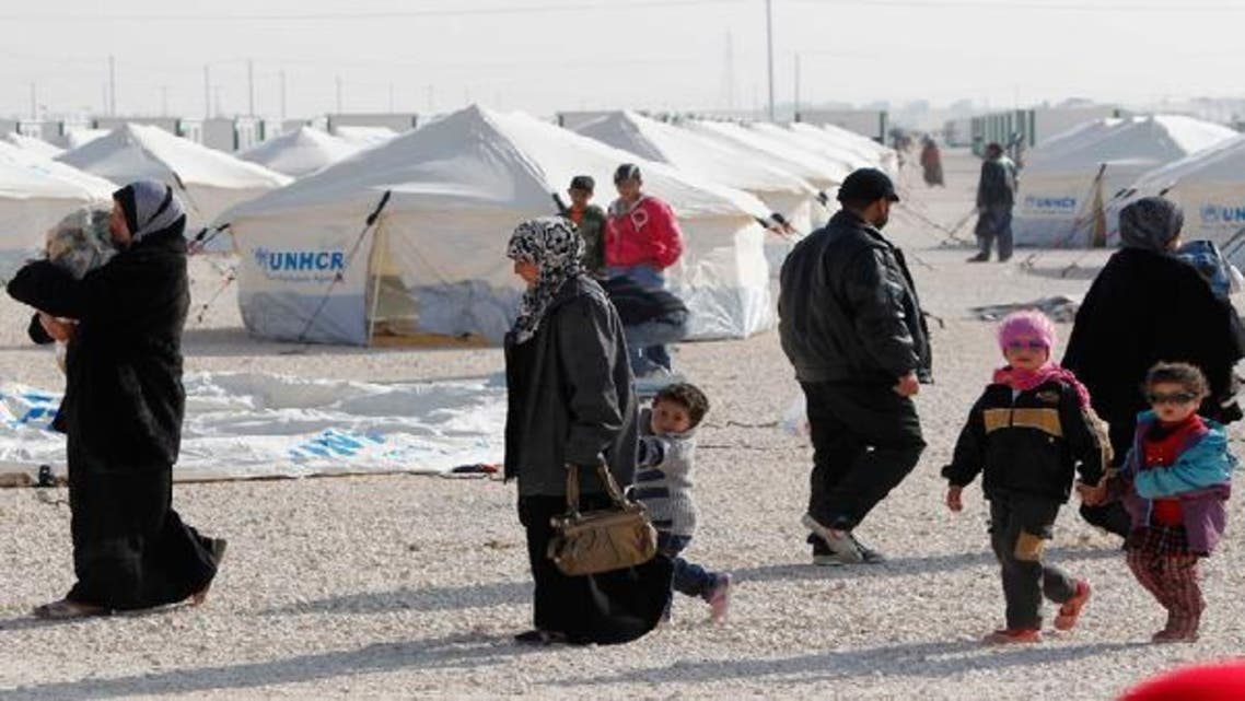 Turkey, which supports the insurgency, is housing a total of some 150,000 Syrian refugees at camps near the border. (Reuters)