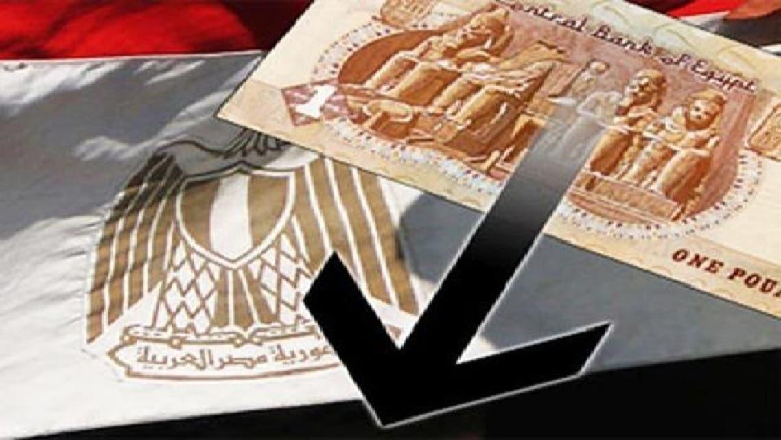 ڈالر کے مقابلے میں مصری پاؤنڈ کی قدر میں مسلسل کمی واقع ہو رہی ہے