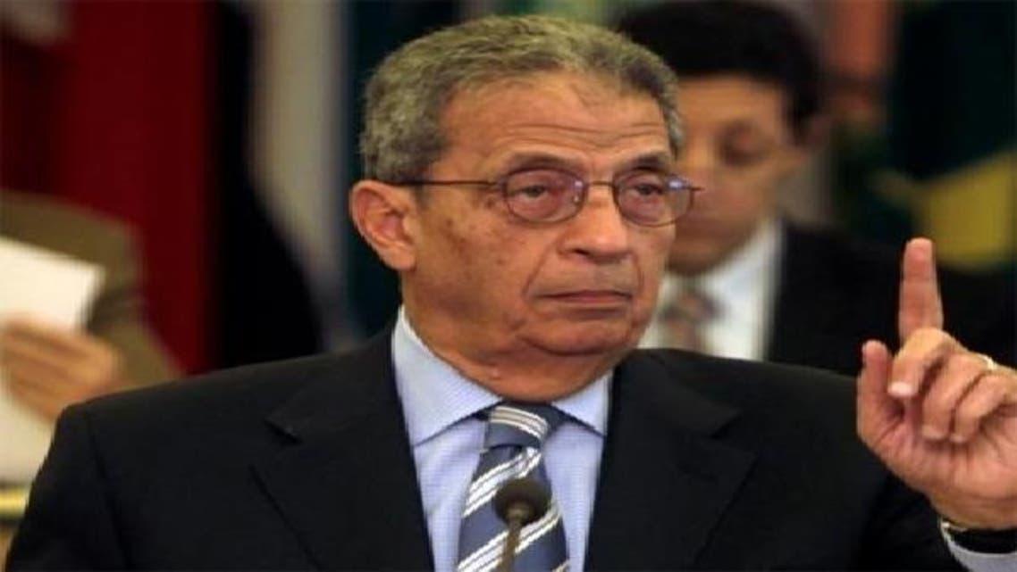 """عمرو موسى، رئيس حزب المؤتمر والقيادي بـ\\""""جبهة الإنقاذ الوطني\\"""""""