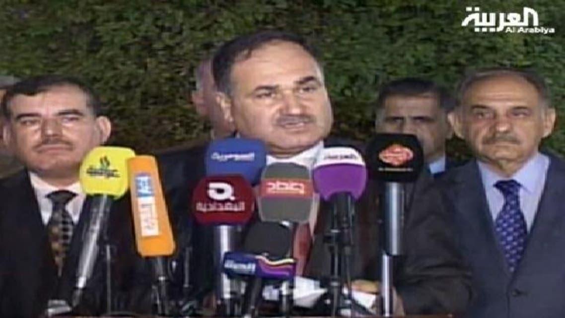 عراقی وزیر خزانہ وزیر خزانہ رافع العیساوی