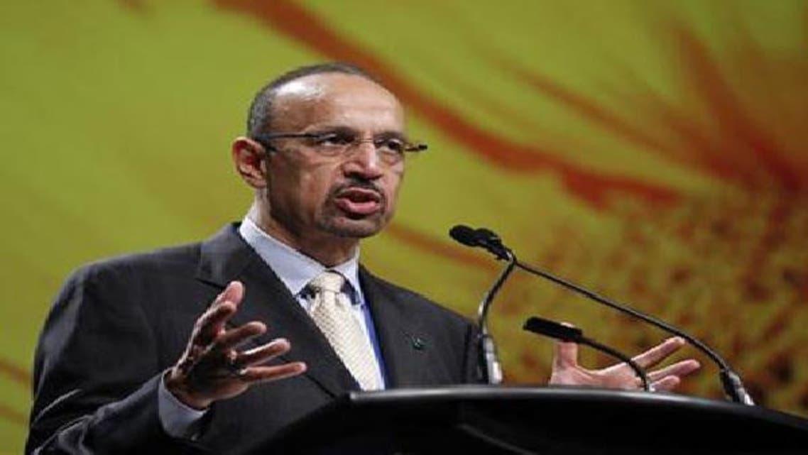 خالد الفالح الرئيس التنفيذي لأرامكو في مؤتمر عن الطاقة