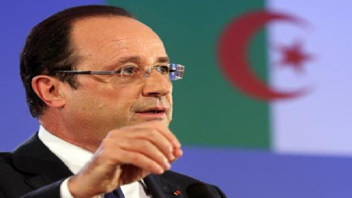 هولاند في الجزائر: لم آتِ للتعبير عن الندم أو الاعتذار