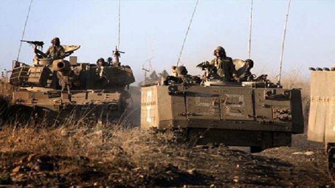 """قوات الجيش الإسرائيلي في الجولان \\""""أرشيفية\\"""""""