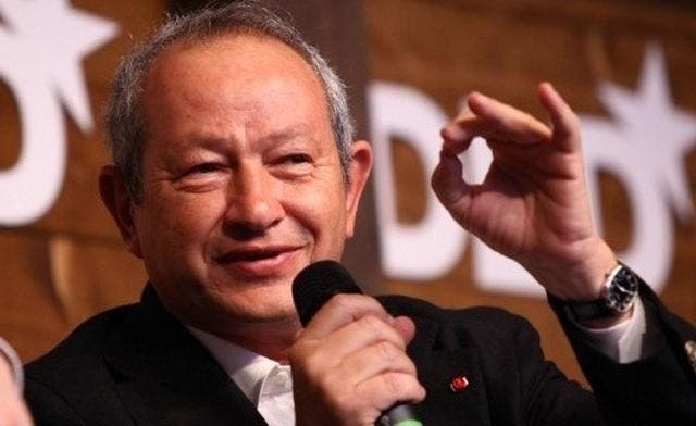 Egyptian telecoms magnate Naguib Sawiris chairs Weather Investments. (AFP)